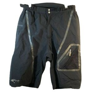 Descente Mountain Biking Black Shorts